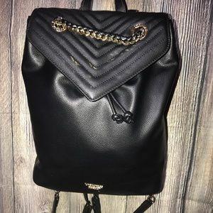 c90da3d4f51bf Victoria's Secret Pebbled V-Quilt Angel Backpack NWT